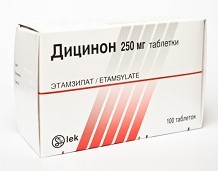 Дицинон во время менструации