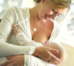 Месячные при кормлении грудью