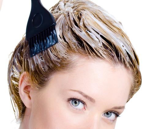 Окрас волос во время критических дней