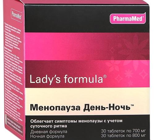 Ледис Формула при менопаузе