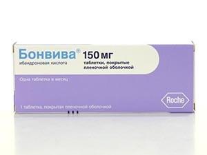 Прием препарата Бонвива при климаксе