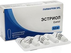 Гормональное лечение раннего климакса с помощью препарата Эстриол