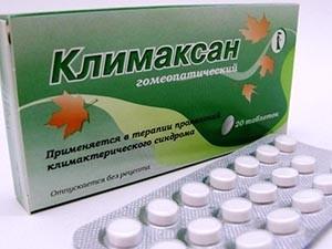 Климаксан - гомеопатический препарат при менопаузе