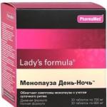 Воздействие препарата Ледис Формула на организм женщины при климаксе