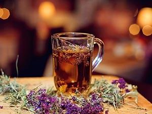 Чай с душицей от приливов при климаксе у женщин