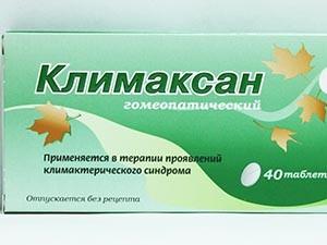 Прием Климаксана при менопаузе