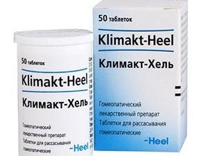 Прием препарата Климакт-Хель при климаксе