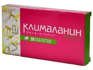 Назначение препарата Клималанин при климаксе