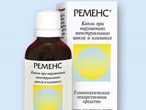 Воздействие препарата Ременс при климаксе