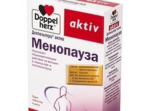 Назначение Доппельгерц Менопауза для предупреждения старения при климаксе