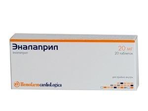 Лечение гипертонии при климаксе препаратом Эналаприл
