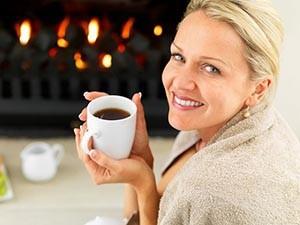 Лечение чаем симптомов менопаузы