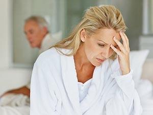 Травмы слизистой в постменопаузе по причине сухости
